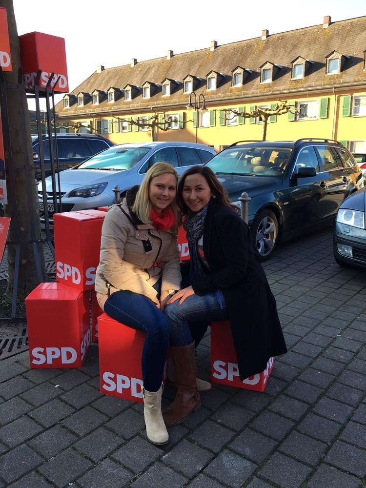 Verschnauffpause- Infostand Kommunalwahl 2016