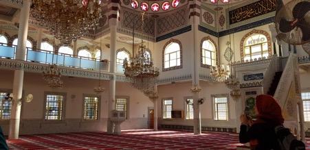 Inside Gallipoli Mosque in Sydney