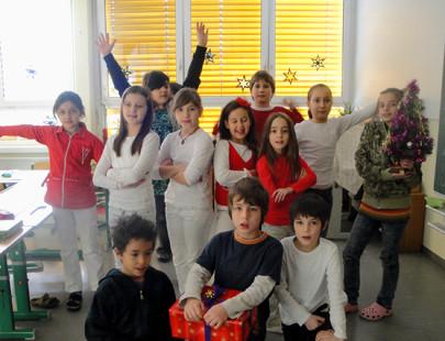 Tanzprojekt mit Kindern der VS Neufeld