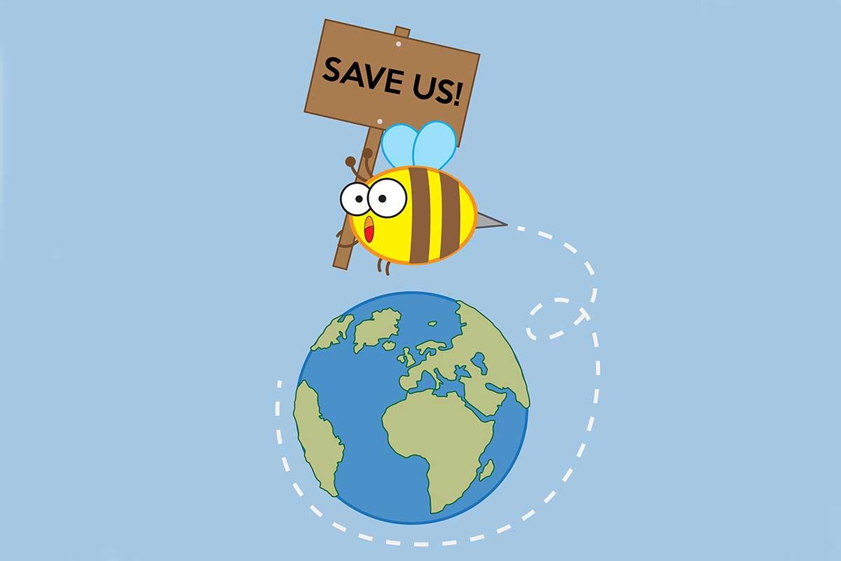 Sin abejas también desaparecerán las frutas, el café y el chocolate. Salvémoslos de los pesticidas todos los días...