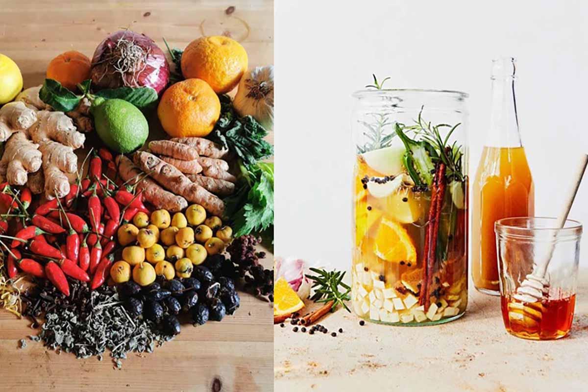 """Sidra de fuego: la receta del té de hierbas """"bomba"""" que ayuda a fortalecer el sistema inmunológico ..."""