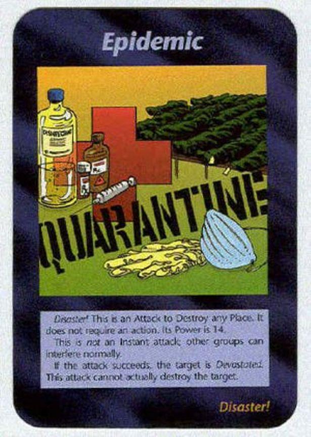 El juego de cartas Illuminati que profetizó la pandemia (planificada)...