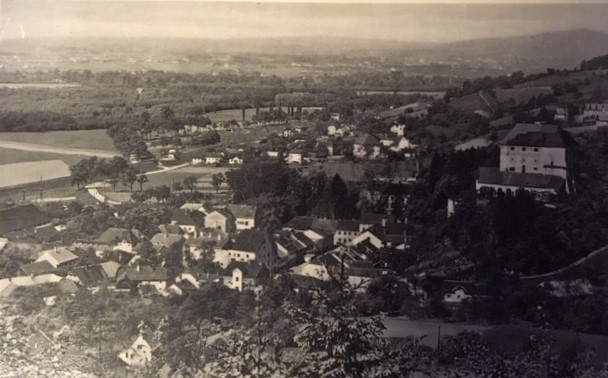 Postkarte - gelaufen 1939