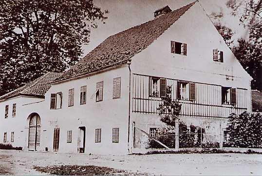 Das Gebäude wurde 1973 abgerissen.