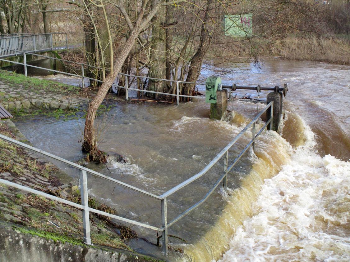 A. Erb: Überfluteter Sitzplatz wird zur LGS neu gestaltet.