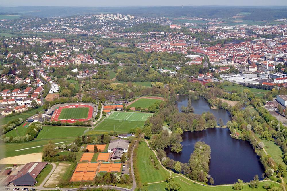 Foto: privat, Panorama Fuldaaue und Stadt Fulda