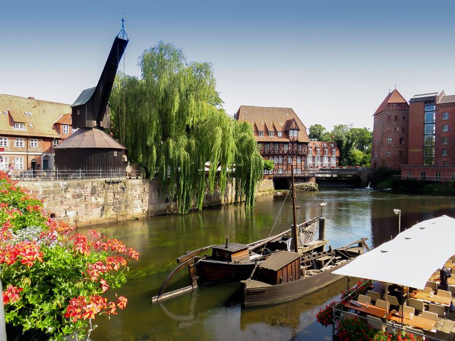 Lüneburg - Alter Kran - Am Stintmarkt