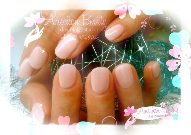 Acryl Nägel: Pastell Pink II