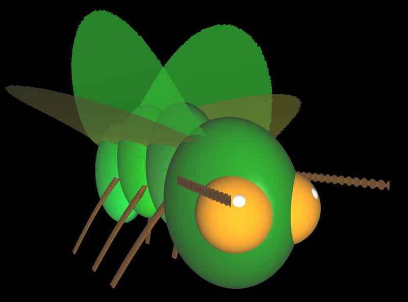 3D Insekt mit impliziten Flächen - 2