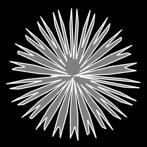 Superformel:   Rotationsunsymmetrie mit m<sub>1</sub> und m<sub>2</sub>