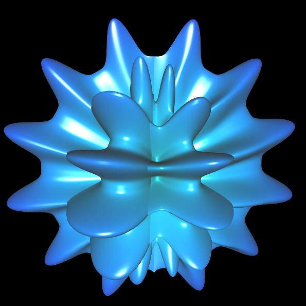 Spherical Harmonic - reelle Koeffizienten geschlossen - 16
