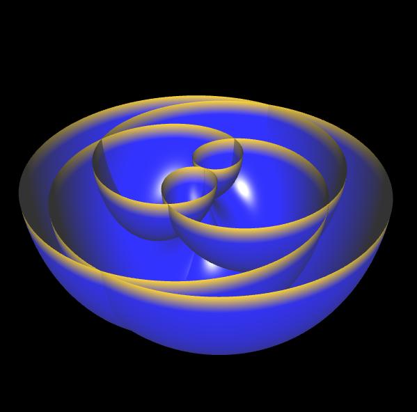 3D Rose Curve - 3