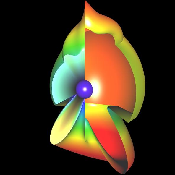 Spherical Harmonic - reelle Koeffizienten - offen 8