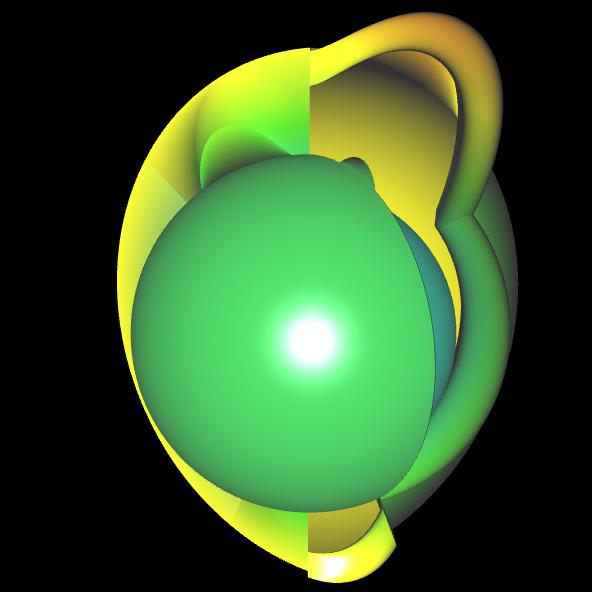 Spherical Harmonic - reelle Koeffizienten - offen 6