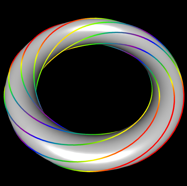 Totus-Knoten Linie
