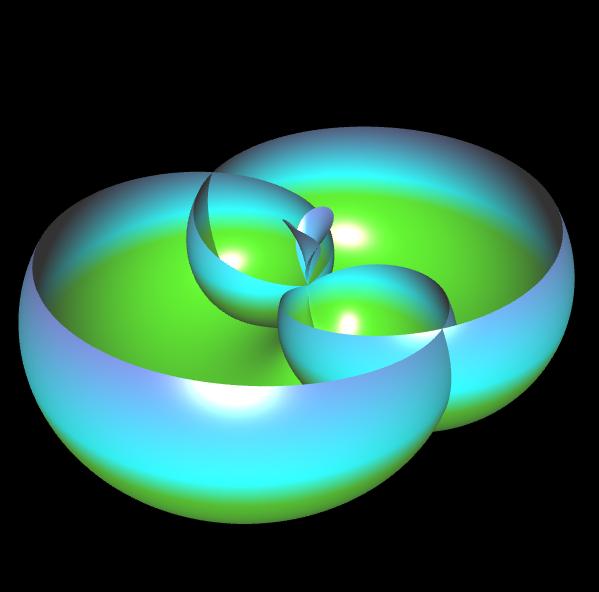 3D Rose Curve - 4