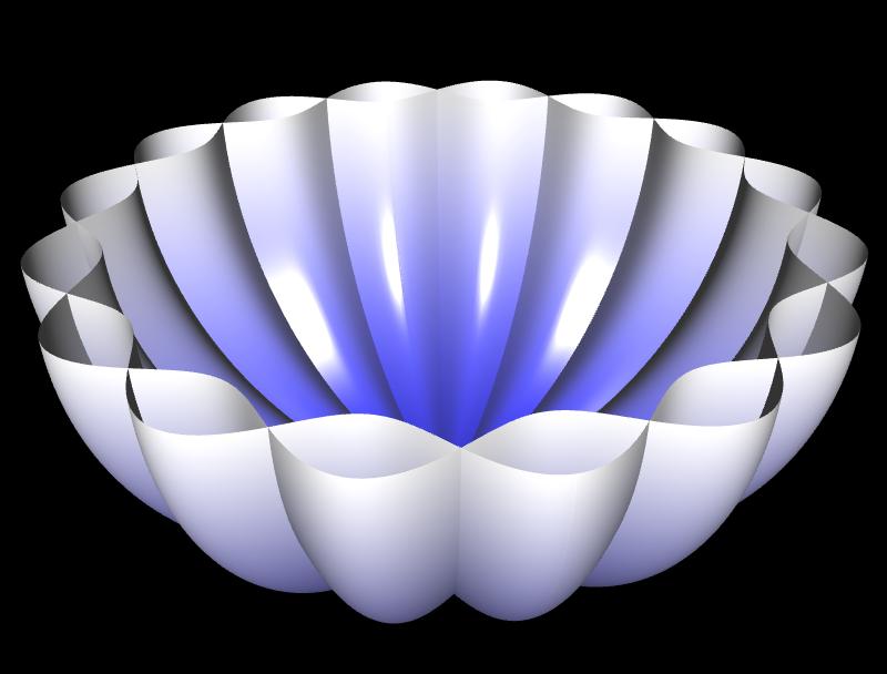 3D Rosenkurve - 5