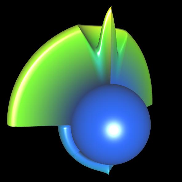 Spherical Harmonic - reelle Koeffizienten - offen 5
