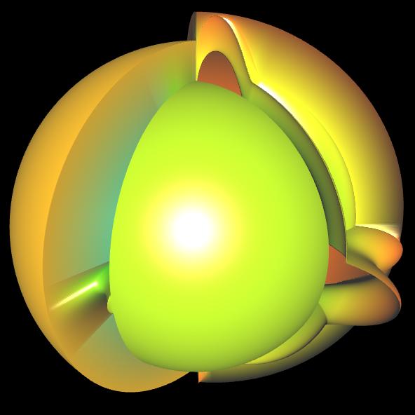Spherical Harmonic - reelle Koeffizienten - offen 4