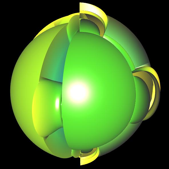 Spherical Harmonic - reelle Koeffizienten - offen 9