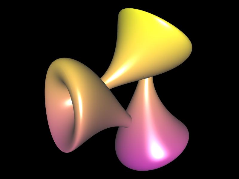 Jeener Klein Fläche mit a=2