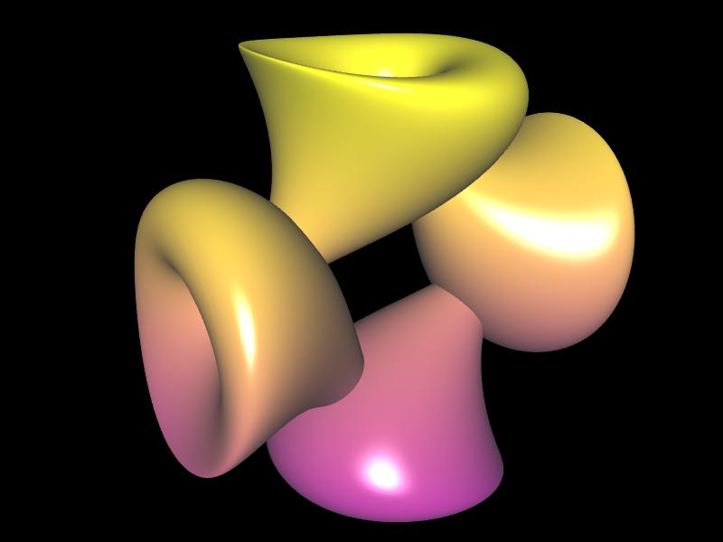 Jeener Klein Fläche mit a=3