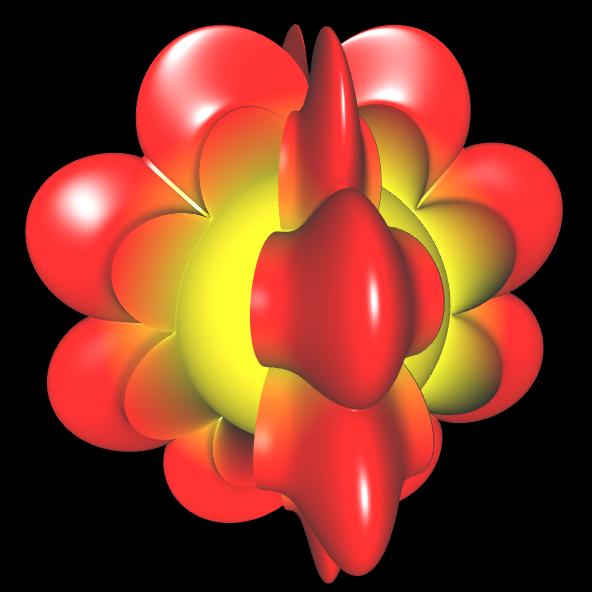 Spherical Harmonic - reelle Koeffizienten geschlossen - 11