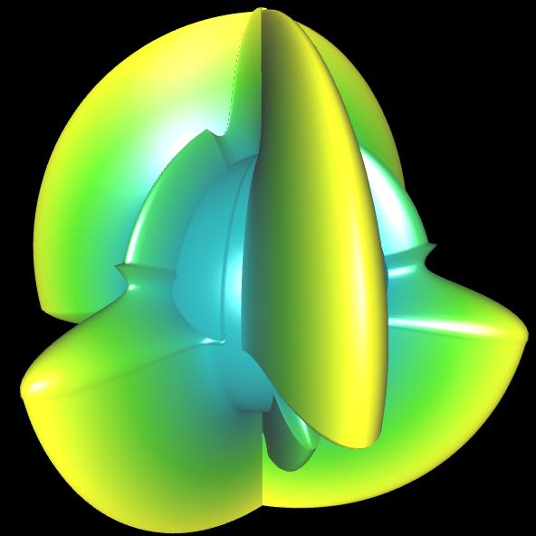 Spherical Harmonic - reelle Koeffizienten geschlossen - 5