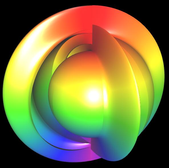 Spherical Harmonic - reelle Koeffizienten - offen 1