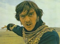 David Hemmings in the 1968 film 'The Charge of the Light Brigade'.