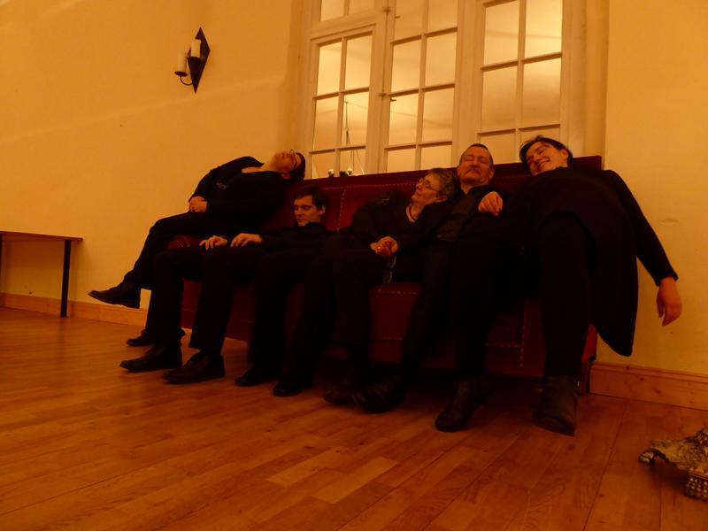 Nach dem Konzert, Proitzer Mühle, Advent 2017