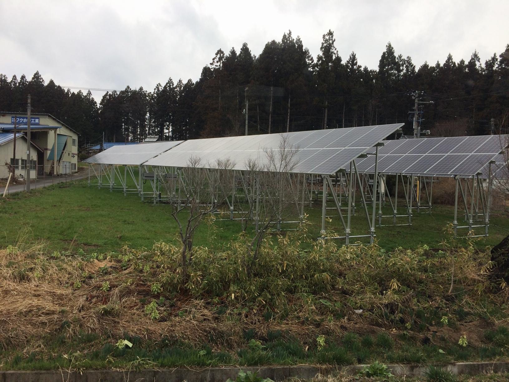 M田S藤・営農型太陽光発電所