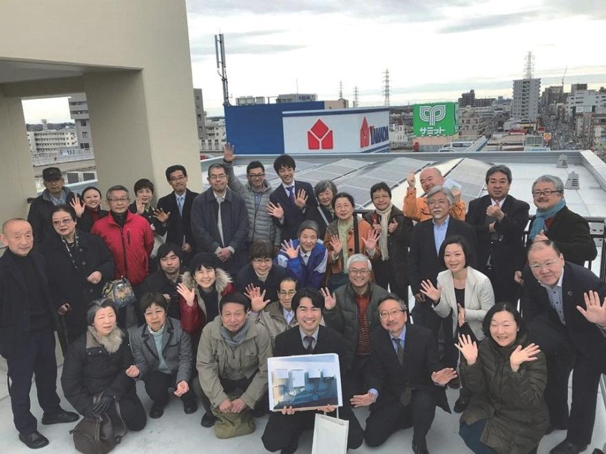 町田市民電力太陽光発電所1号