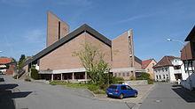 Panorama der Kirche
