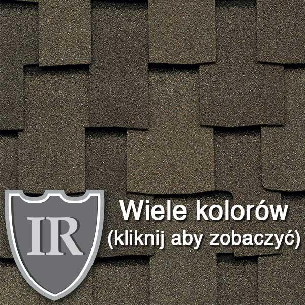 Dachówka Bitumiczna laminowana GAf Grand Sequoia IR, pokrycia dachowe, dach, gont