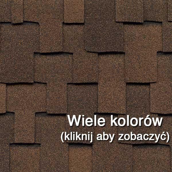Dachówka Bitumiczna laminowana GAF Grand Sequoia, pokrycia dachowe, dach, gont
