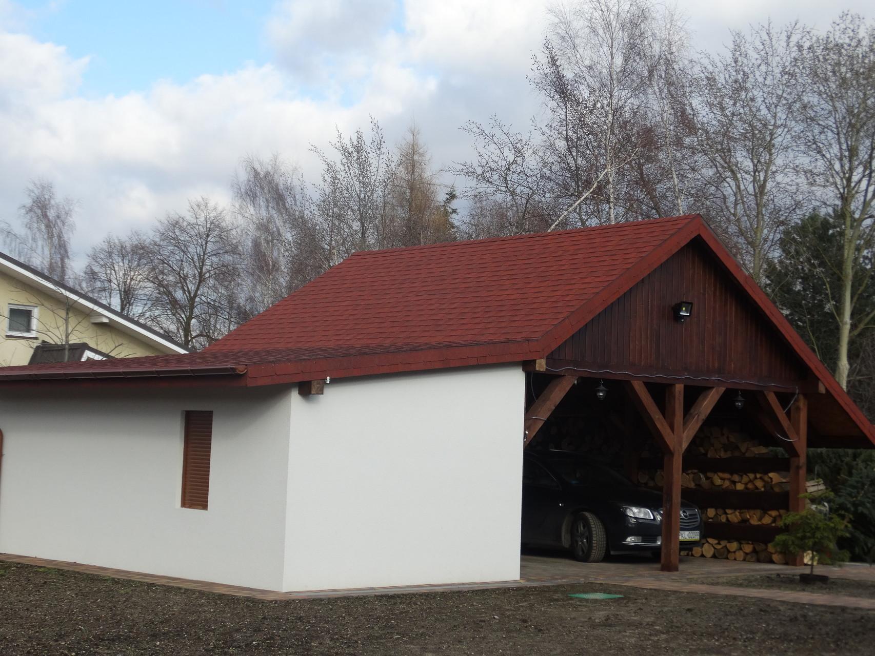 Gont Landmark w kolorze Cottage Red
