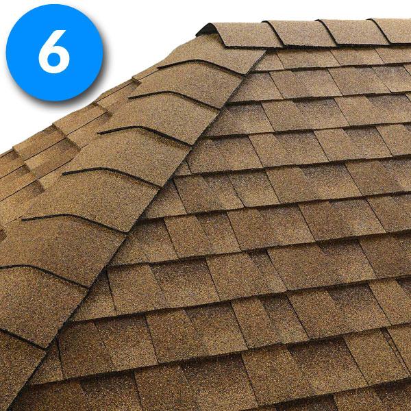 Pas kalenicowy Seal-A-Ridge pod gont bitumiczny, pokrycia dachowe, dach, gont, dachówka bitumiczna,