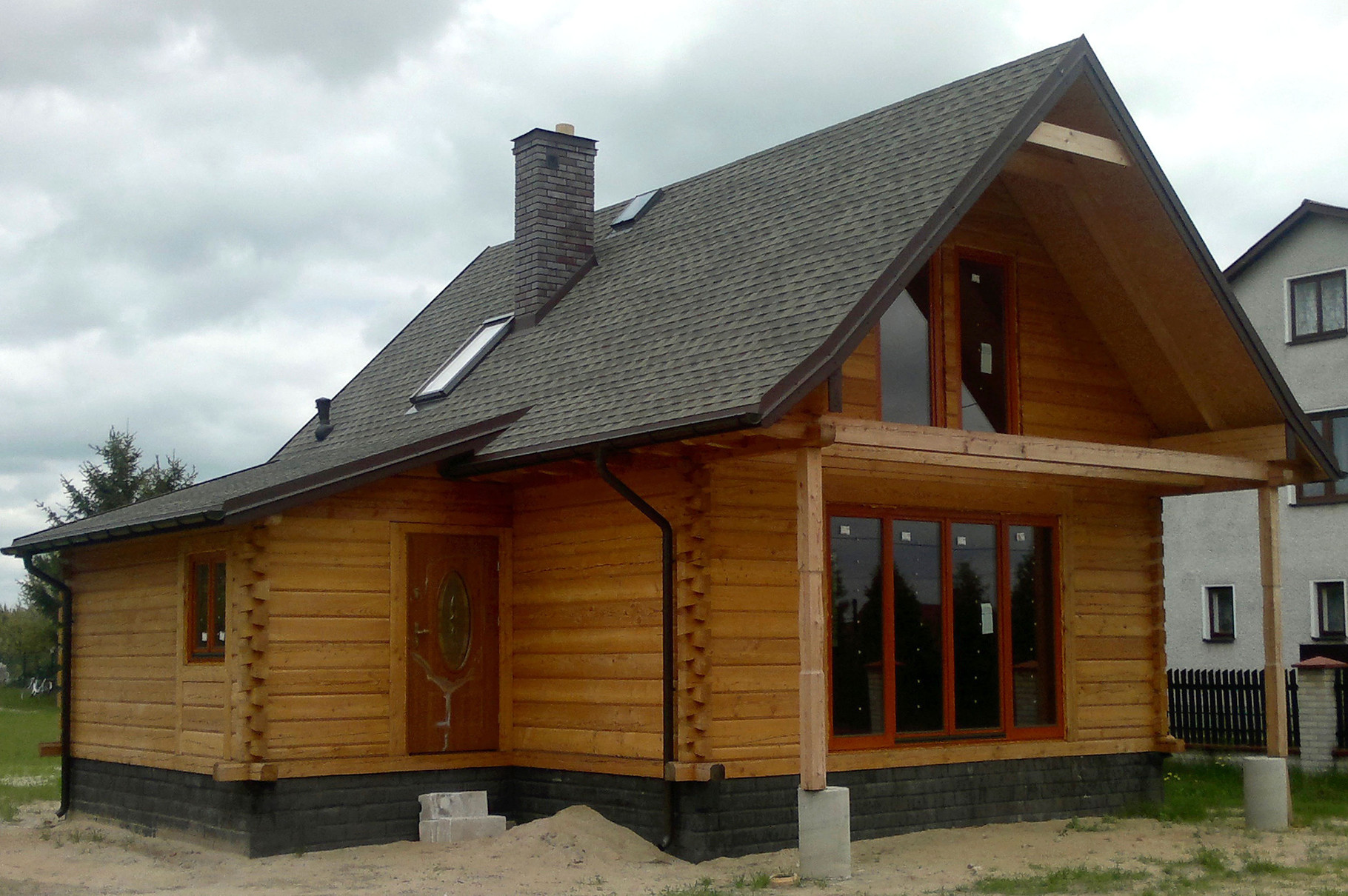 Gonty GAF Timberline HD w kolorze Weathered Wood