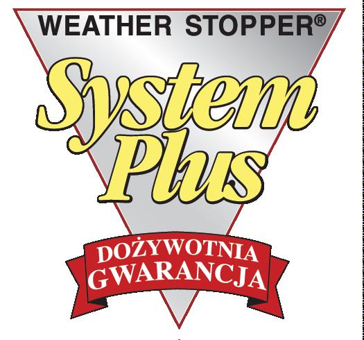 logo dożywotniej gwarancji na dach