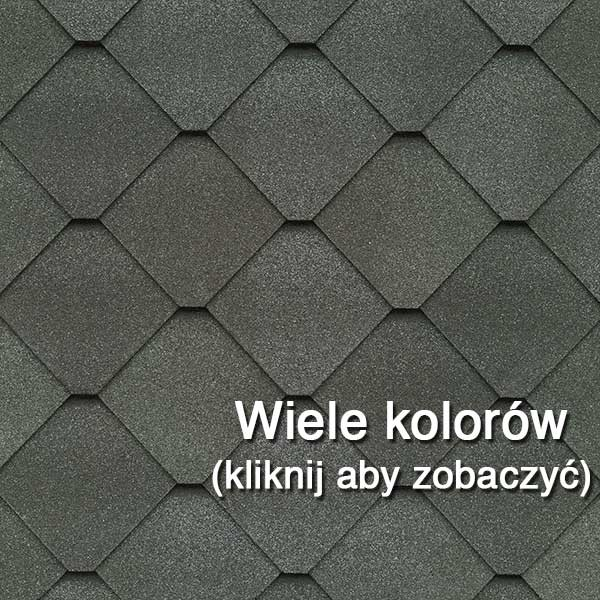Dachówka Bitumiczna laminowana GAF Sienna, pokrycia dachowe, dach, gont