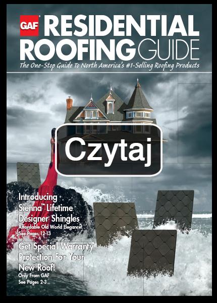 broszura reklamowa exclusive, gont bitumiczny laminowany, akcesoria dachowe, gaf, timberline hd, ceny, cennik,