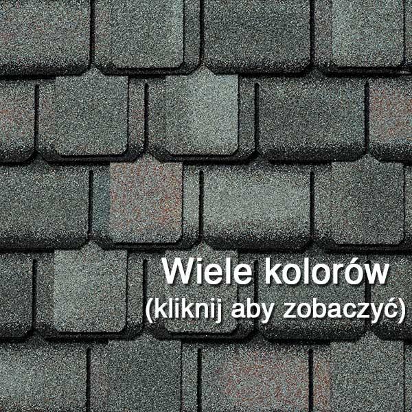 Dachówka Bitumiczna laminowana GAF Camelot, pokrycia dachowe, dach, gont