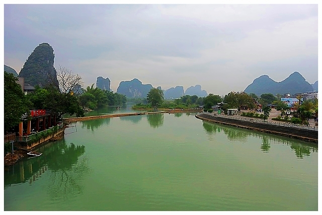 Yangshuo China Guilin Sehenswürdigkeiten