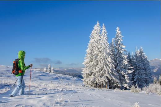 Schlittenfahren und Winterwanderung zur Corona-Zeiten!