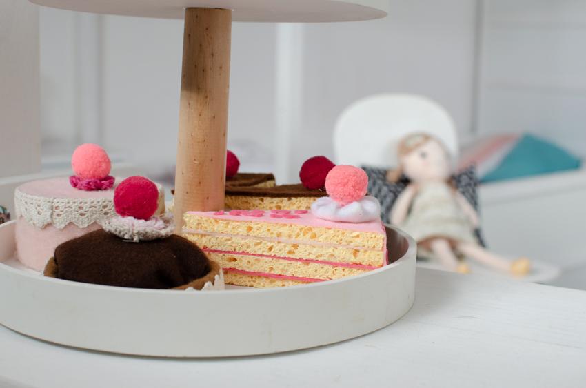 Kaufladen Kuchen basteln