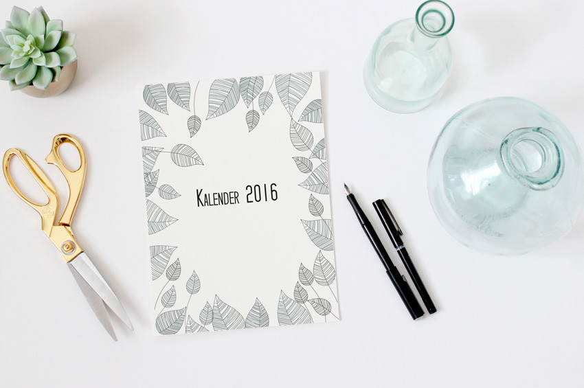 gratis download Wandkalender 2016