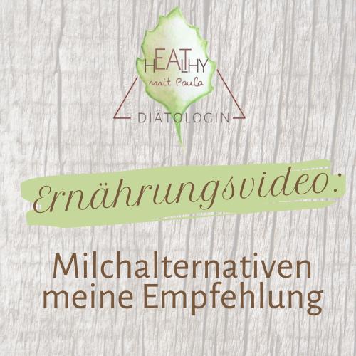 Milchalternativen|Meine Empfehlung