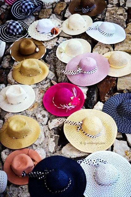 Hüte in Sizilien von lg-artdesign.com