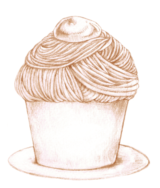 2012 喫茶展DMの為のイラスト